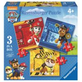 Ravensburger - Psi Patrol 3 w 1 Puzzle 25-36-49 elem. 070572