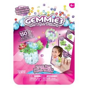 Gemmies - Duży zestaw uzupełniający Błyszczące Kwiaty 150 elementów 65043