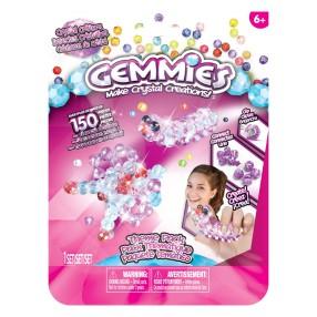 Gemmies - Duży zestaw uzupełniający Kryształowe robaczki 150 elementów 65042