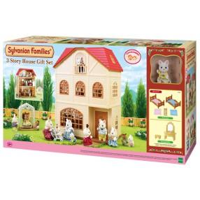 Sylvanian Families - Trzypietrowy dom, zestaw na prezent 2738