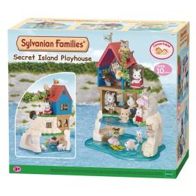 Sylvanian Families - Sekretny domek do zabaw na wyspie 5229