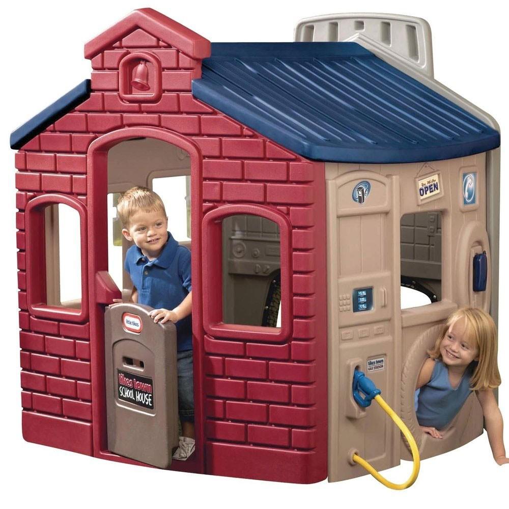 Little Tikes - Miejski domek do zabaw KOLOROWY 444D