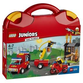 LEGO Juniors - Patrol strażacki 10740