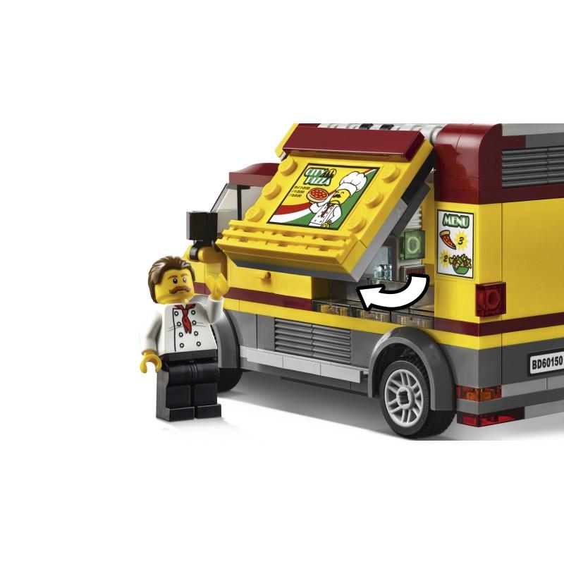 Lego City Foodtruck Z Pizzą 60150