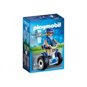 Playmobil - Policjantka na Balance-Racer 6877