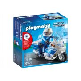 Playmobil - Motor policyjny ze światłem LED 6923