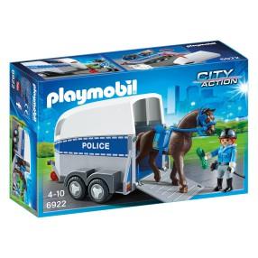 Playmobil - Jednostka konna z przyczepką 6922
