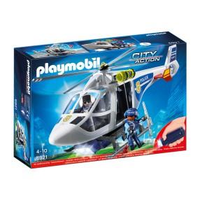 Playmobil - Helikopter policyjny z reflektorem LED 6921