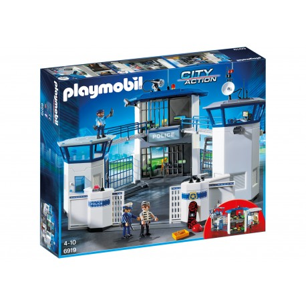 Playmobil - Komisariat policji z więzieniem 6919