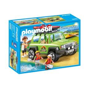 Playmobil - Samochód terenowy z kajakiem 6889