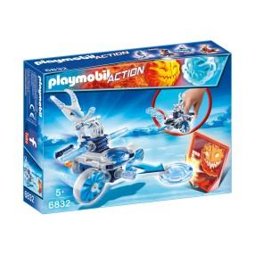 Playmobil - Frosty z wyrzutnią dysków 6832
