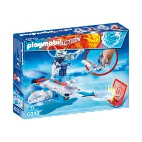 Playmobil - Icebot z wyrzutnią dysków 6833