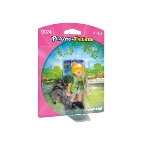 Playmobil - Opiekunka zwierząt z gorylątkiem 9074