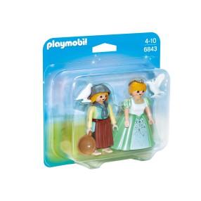 Playmobil - Duo Pack Księżniczka i służebna 6843