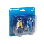 Playmobil - Duo Pack Profesor i robot 6844