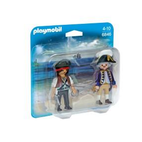 Playmobil - Duo Pack Pirat i żołnierz 6846