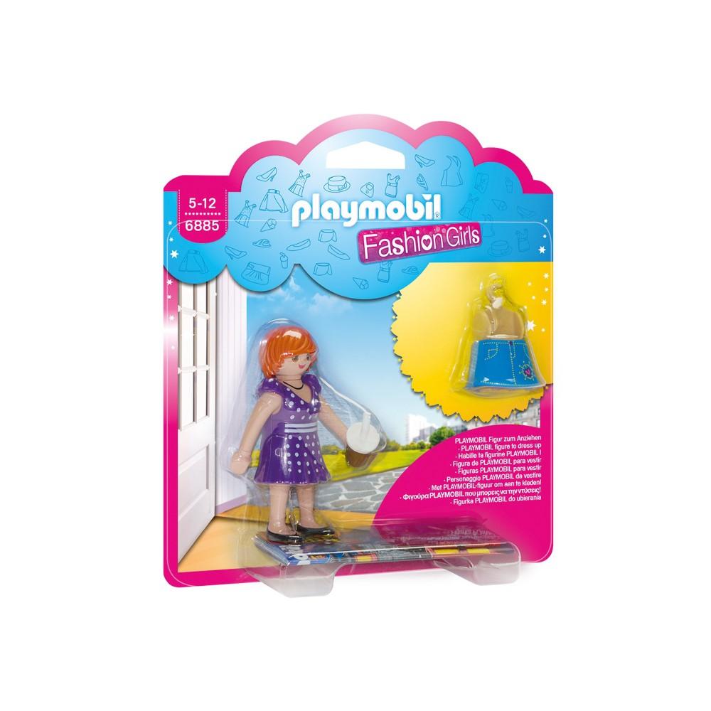 Playmobil - Fashion Girl - Wielkie miasto 6885