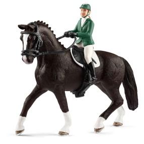 Schleich - Jeździec pokazowy z koniem 42358