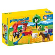 Playmobil - 1.2.3 Małe zoo 6963