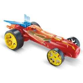 Hot Wheels - Autonakręciaki Wyścigówka Torque Twister Czerwony DPB65