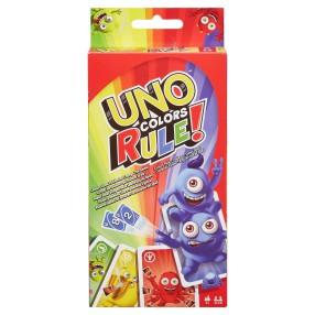 Mattel - Karty Gra UNO Kolory rządzą! DWV64