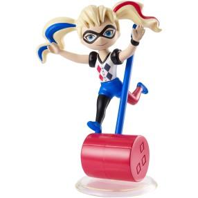 Mattel DC Super Hero Girls - Winylowe figurki Lalka Mini Harley Quinn DWC97
