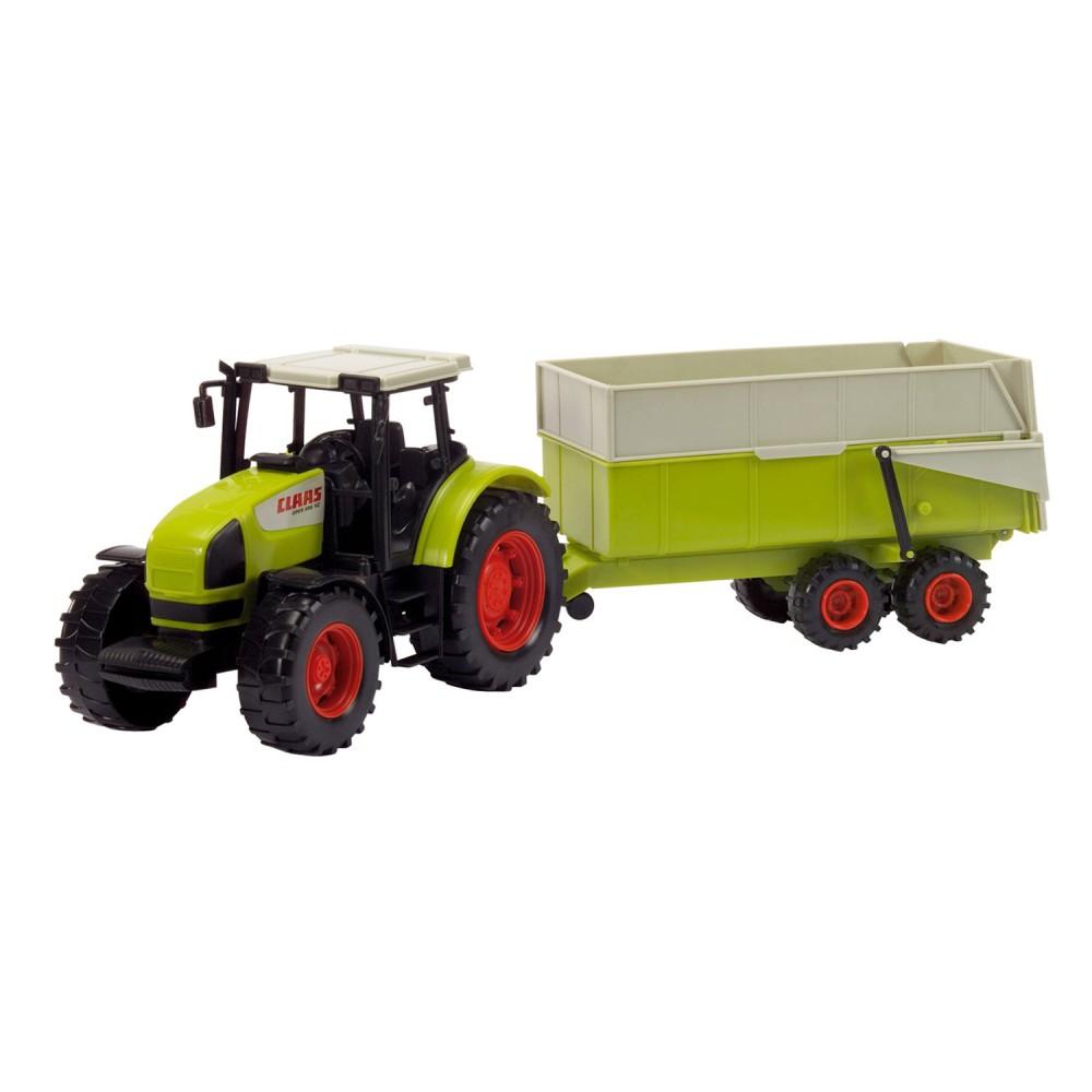 Dickie Farm - Traktor CLAAS Ares z przyczepą 3739000