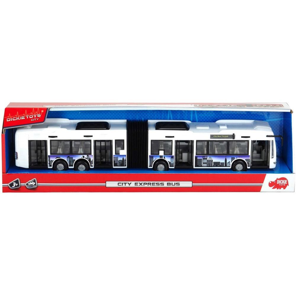 Dickie City - Autobus City Express Biały 3748001 B