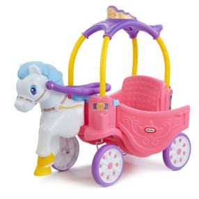 Little Tikes - Samochód COZY COUPE Kareta z koniem 642326