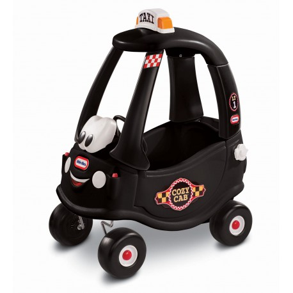 Little Tikes - Samochód COZY COUPE Cab Taxi Czarny 172182