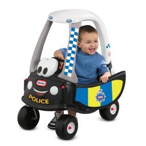 Little Tikes - Samochód COZY COUPE Patrol Policji Radiowóz 172984