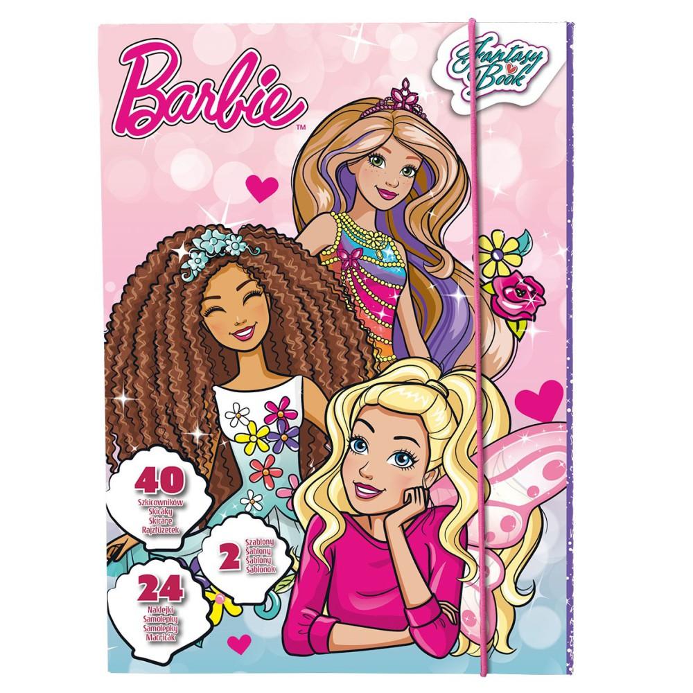 TM Toys - Szkicownik Barbie Księżniczki DKC8167
