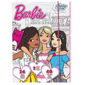 TM Toys - Szkicownik Barbie i miłośniczki mody DKC8169