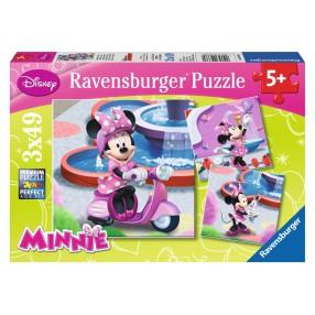 Ravensburger - Myszka Minnie w parku 3x49 093380