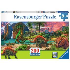 Ravensburger - Puzzle W świecie dinozaurów 200 elem. 127474