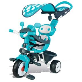 Smoby - Rowerek Baby Driver Comfort Mixte Niebieski 740601