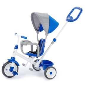Little Tikes - Mój pierwszy trójkołowy rowerek 4w1 Niebieski 642333