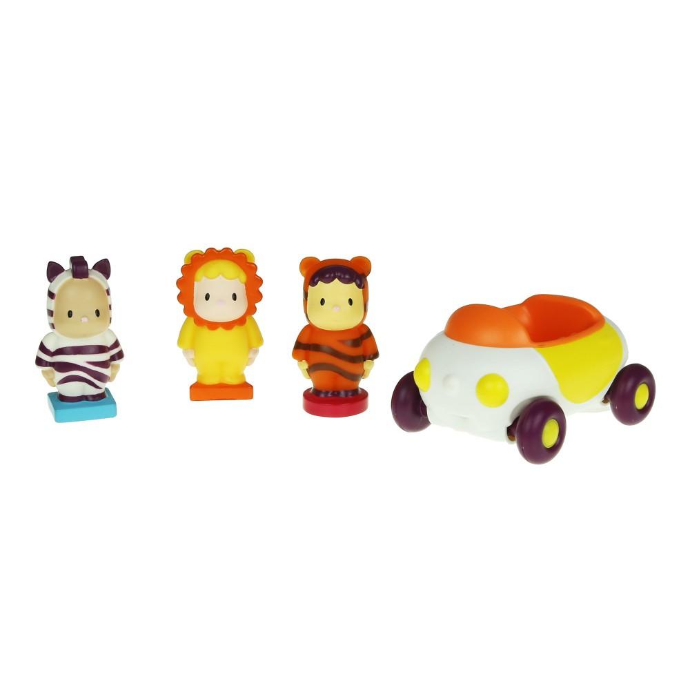 Smoby Cotoons - Autko + 3 figurki 39170