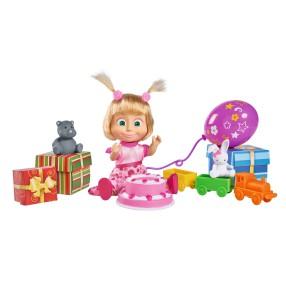 Simba Masza i Niedźwiedź - Lalka z dźwiękiem Masza i urodzinowe przyjęcie 9301014