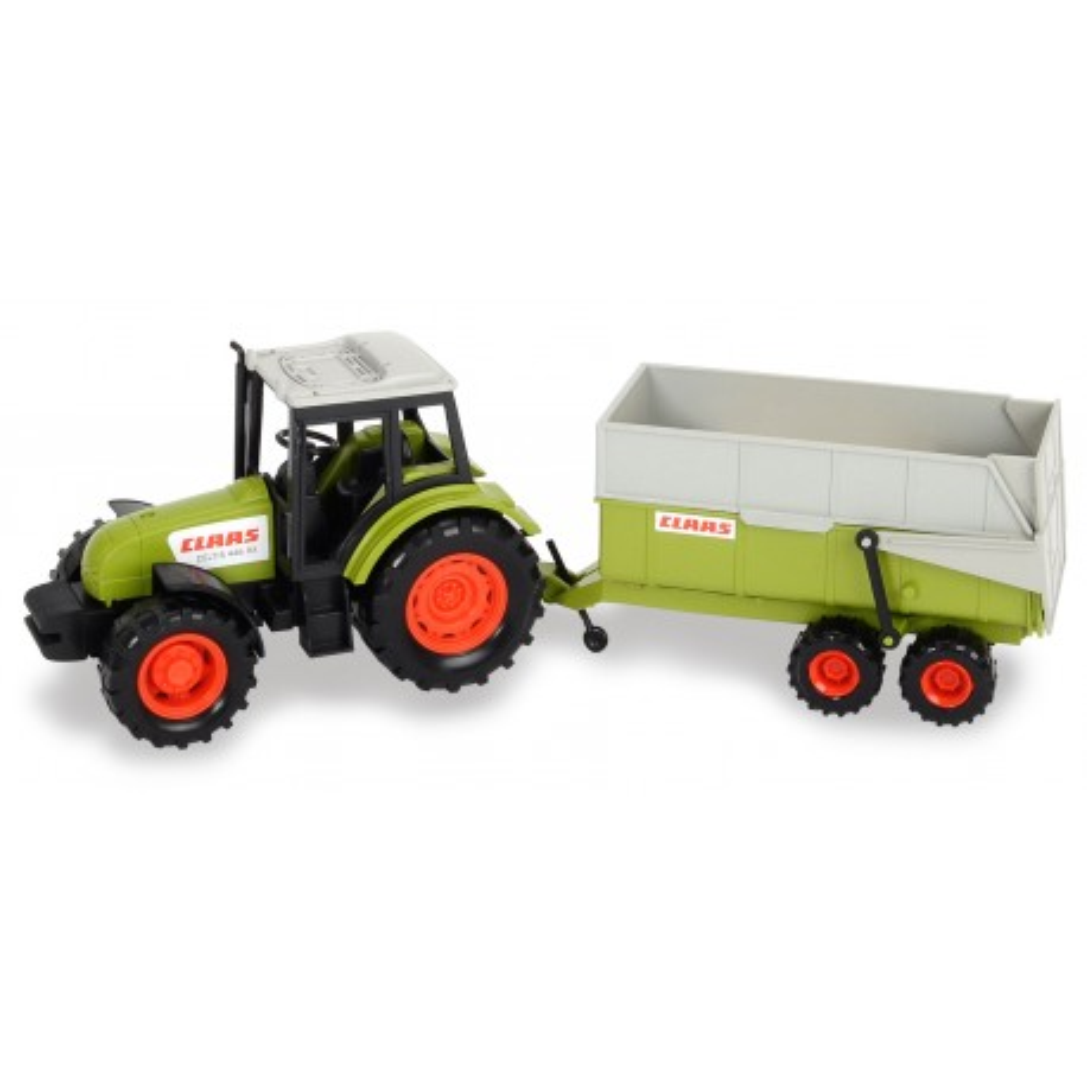 Dickie Farm - Traktor CLAAS z przyczepą 36 cm 3736004