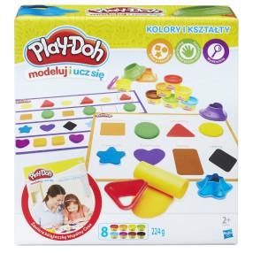 Play-Doh - Ciastolina Kolory i kształty B3404