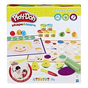 Play-Doh - Ciastolina Literki i mowa B3407