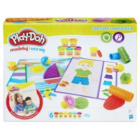 Play-Doh - Ciastolina Faktury i narzędzia B3408