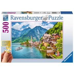 Ravensburger - Puzzle Kościół u podnóża góry 500 elem. 136872