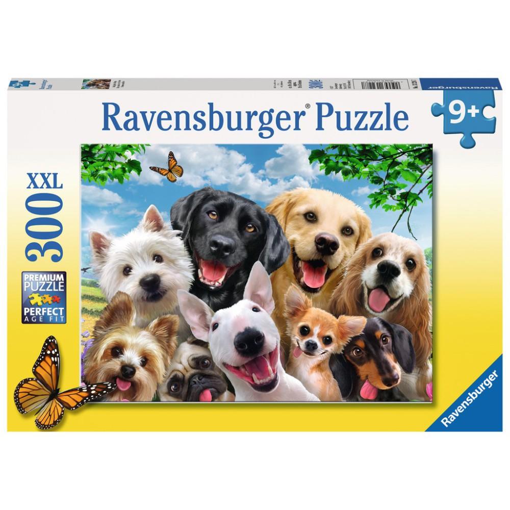 Ravensburger - Puzzle XXL Szczęśliwe psy 300 elem. 132287