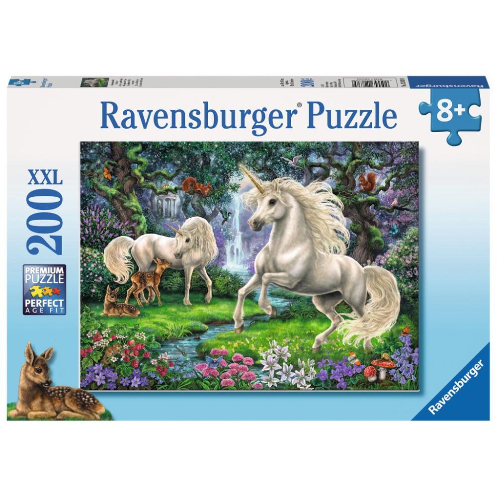 Ravensburger - Puzzle XXL Jednorożce 200 elem. 128389