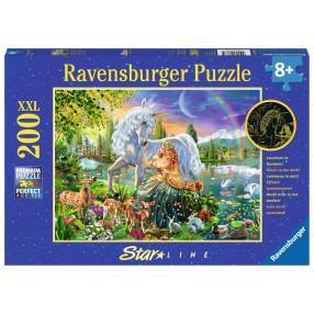 Ravensburger - Puzzle XXL Magiczna noc 200 elem. Świecą w ciemności 136735