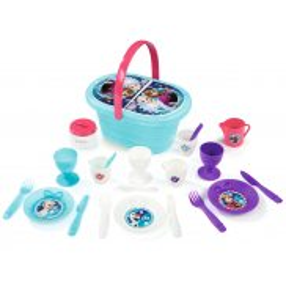 Smoby - Koszyk piknikowy z akcesoriami Kraina Lodu 310556