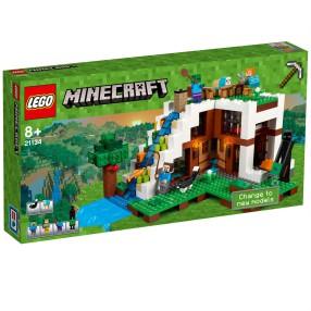 LEGO Minecraft - Baza pod wodospadem 21134
