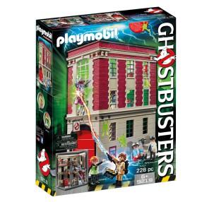 Playmobil - Pogromcy Duchów Straż pożarna 9219